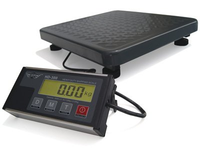 Promoción báscula electrónica plataforma ideal como pèse-colis pesado objetos pesados 60 kg x 20