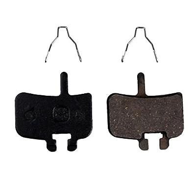 Resin Organic Semi-metal Brake Pads for Hayes FX-Mag HMX MX1 Hayes 9 HMX-2 HFX9 Mag MX,Smooth Braking,Low Noise, Long Life, Kevlar, Copper
