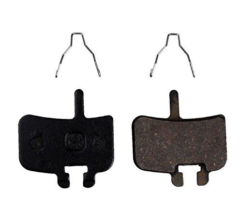 Resin Organic Semi-metal Brake Pads for Hayes FX-Mag HMX MX1 MX-1 Hayes 9 HMX-2 HFX9 Mag MX,Smooth Braking,Low Noise, Long Life, Kevlar, Copper