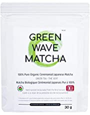 Matcha Green Tea Ceremonial Powder – Organic Japanese Grade Ceremonial Superfood, Premium Antioxidants | Perfect for Baking, Smoothies, Latte, Iced tea & Weight Loss (Ceremonial Japanese Matcha 30g)