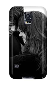 Tpu Shockproof/dirt-proof Sweet Cute Love Couple Boy And Girl Cover Case For Galaxy(s5)