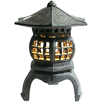 "TIAAN 12"" height Japanese lantern Solar garden lamp Solar pagoda light"