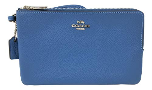 Coach Pebble Leather Double...