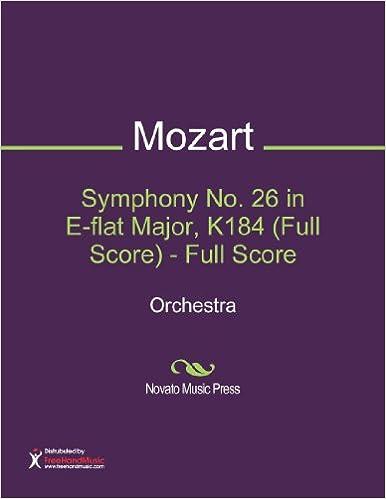 Symphony No. 26 in E-flat Major, K184 (Full Score) - Full