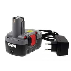 Batería para Bosch Tipo/diseño de BAT181 O-Pack Ion de litio, cargador incluido, 18, v Batería de ión de litio para herramienta eléctricas []