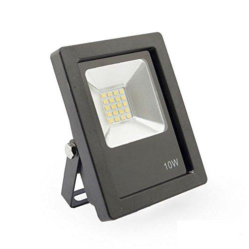 Multiled Foco Proyector LED de Exterior 10 W, Blanco Frío: Amazon ...