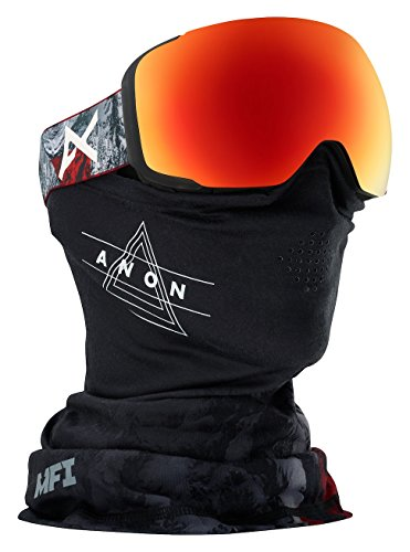 Anon M2 MFI Goggle, Red Planet/Sonar Red - M2 Red