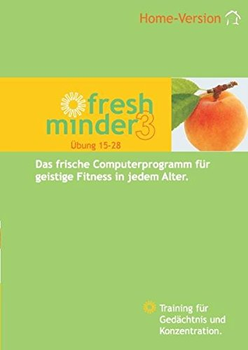 Fresh Minder 3 Home: Gedächtnis- und Konzentrationstrainings-Software