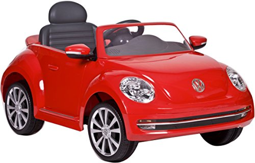 Rollplay VW Beetle 6-Volt Battery-Powered Ride-On, Red by Rollplay