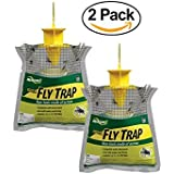 RESCUE! FTD2 Disposable Fly Trap, 2-Pack