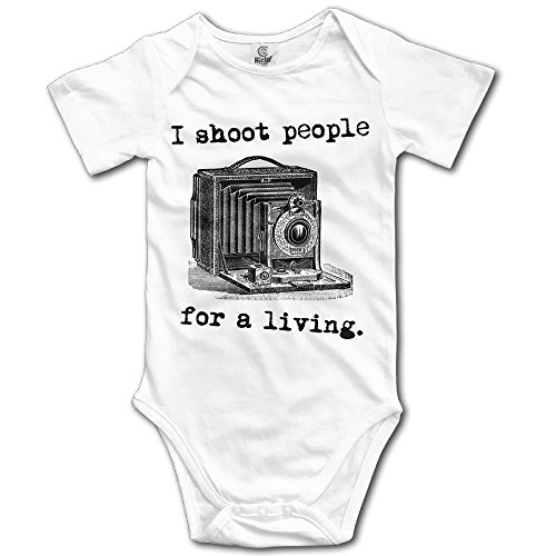 Baby Onesie I Shoot People For A Living Newborn Clothes Outfits Bodysuit