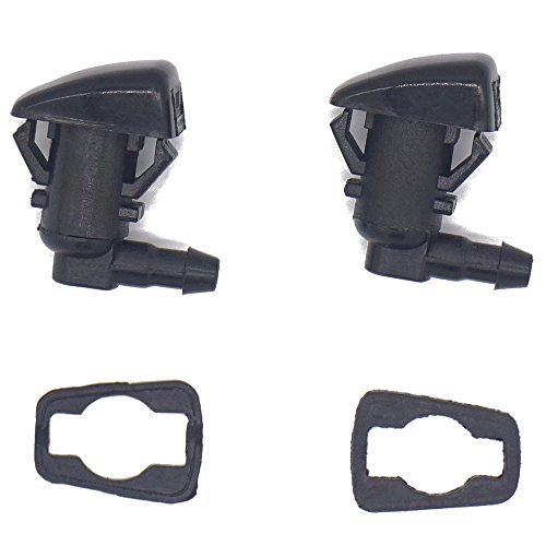 2 Pack Windshield Washer Nozzle Jet Kit fit for 2011 12 13 14 15 Ford F250 F350 F450 F550 Super Duty, Replacement for BC3Z-17603-A BC3Z17603A