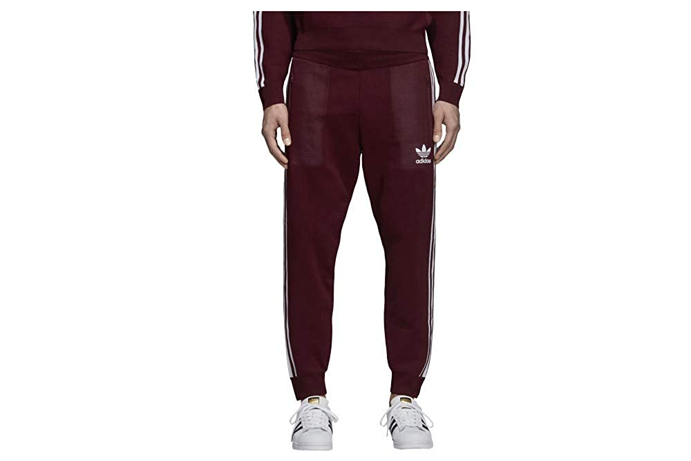 d0d2018b68fd8 adidas Men's Originals Track Pants Maroon dh5759 at Amazon Men's ...