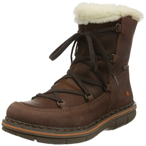 ART Damen Assen Kurzschaft Stiefel Braun (Brown)