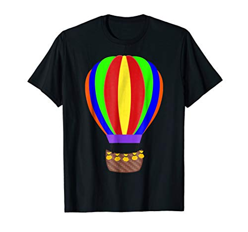 Hot Air Balloon T-Shirt Halloween Fancy Dress Up Costume -