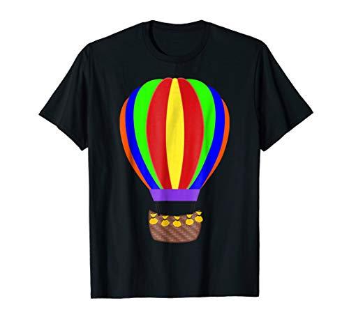 Hot Air Balloon T-Shirt Halloween Fancy Dress Up