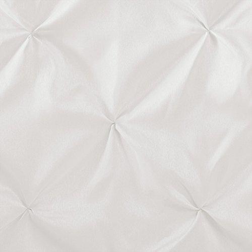 Madison Park MP70-896 LaurelStanford Shower Curtain 72x72 White