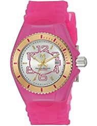 Technomarine Womens Cruise Jellyfish Swiss Quartz Stainless Steel and Silicone Casual Watch, Color:Pink (Model...