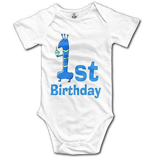 Price comparison product image It's My 1st Birthday Cartoon In Blue Cute Unisex Baby Boy Girl Onesise