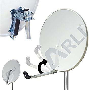 Arli 80 cm antena trasportines-Arm blanco de antena ...