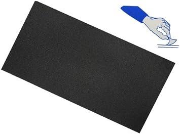 alles GmbH Selbstklebender Reparatur Aufkleber Flicken Nylon schwarz wasserabweisend Bekleidung Regenartikel