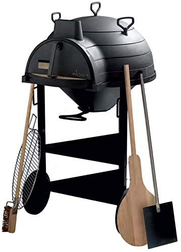 Horno para pan (hierro fundido y ces accesorios: Amazon.es: Jardín