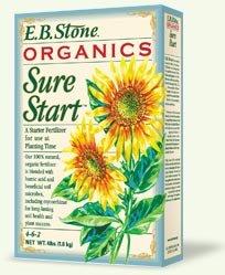 EB Stone Organic Sure Start Fertilizer 4 lbs.