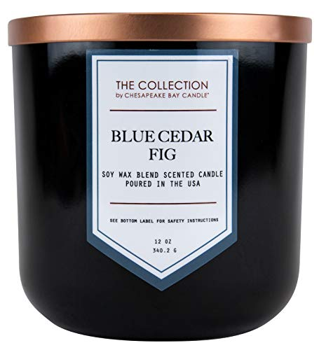 Chesapeake Bay Candle The Collection Two-Wick Scented Candle, Blue Cedar ()