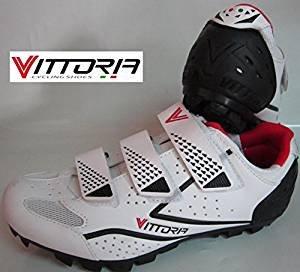 Scarpe per bici mtb Vittoria Peak bianche (44)