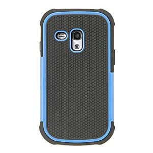 LZX Armor Stand Case for Samsung Galaxy S3 Mini i8190(Assorted Color) , White