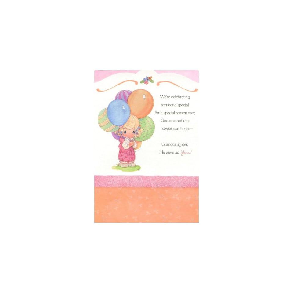 Were Celebrating Someone Special (Dayspring 3960 4) Birthday Card   Granddaughter