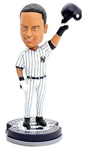 Derek Jeter New York Yankees 2014 MLB Commemorative Retirement Edtion Base Action Bobble Head Forever Collectibles