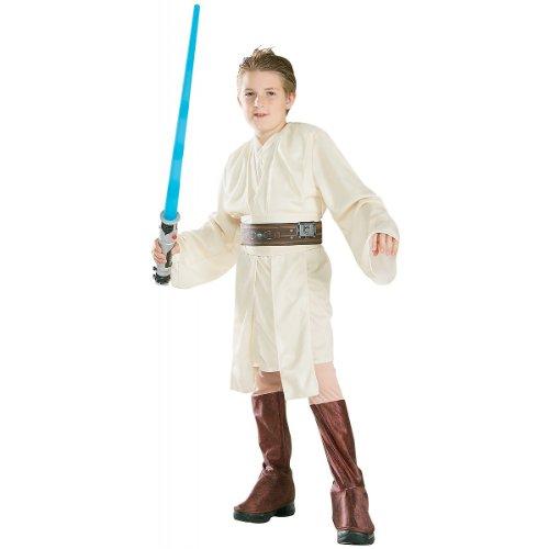[Deluxe Obi-Wan Kenobi Costume - Small] (Obi Wan Kenobi Baby Costumes)