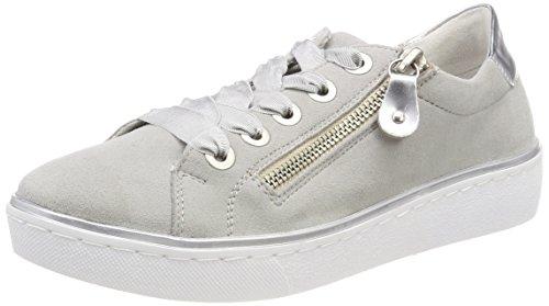 Sneakers Staub EU Femme R5501 36 Gris Argento Basses 13 Remonte Bleu Argento HwpBnq
