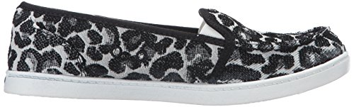 Roxy Women's Lido Iii Slip-on Shoes Flat, Black/Black/Dark Grey, 7 M US by Roxy (Image #7)