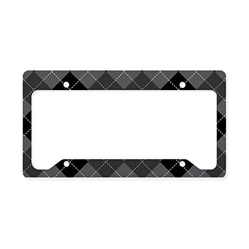 license plate frame argyle - 5