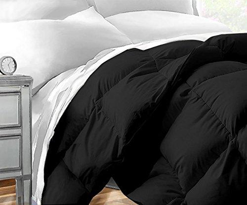 Sleep Restoration Down Alternative Comforter 1400 Series - Best Hotel Quality Hypoallergenic Duvet Insert Bedding - Twin/Twin XL - Black