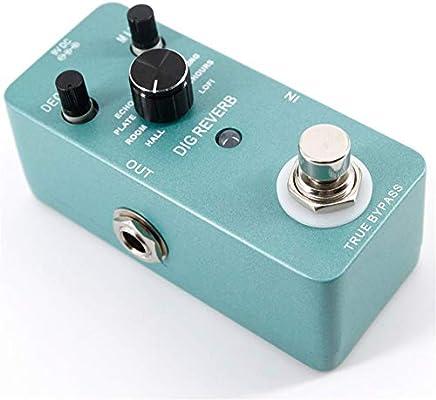 Pedal Efecto Guitarra Mini pedal de guitarra eléctrica Pedal de ...