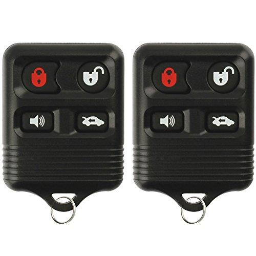 KeylessOption Keyless Entry Remote Control Car Key Fob Replacement for CWTWB1U322 (Pack of 2) by KeylessOption