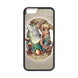 "Fayruz - iPhone 6 Rubber Cases, Tinker Bell Hard Phone Cover for iPhone 6 4.7"" F-i5G176"