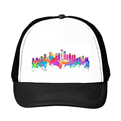 HELEN CHEN Seattle Snap Back Hat United Funny Trucker Hats