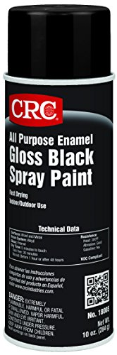 CRC All Purpose Enamel Spray Paint, 10 oz Aerosol Can, Gloss ()