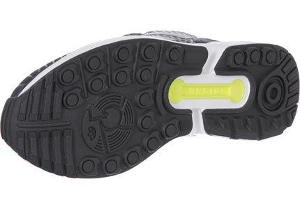 adidas ZX Flux Techfit Jungen Sneaker Schwarz