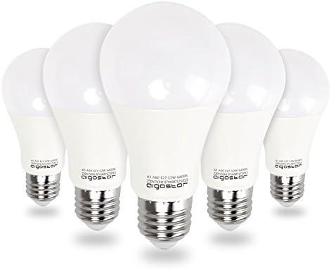 Aigostar - Bombilla LED E27 12W, Luz Blanca Fría 6400K,1020 ...