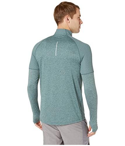 Nike Men's Element 1/2 Zip Running Top Hasta/Aviator Grey/Reflective Silver Size Small by Nike (Image #3)