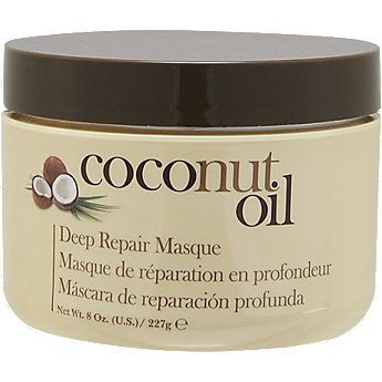 Coconut Conditioning Mask - Hair Chemist Coconut Repair Masque, Hair Mask Deep Conditioning Hair Treatment, Helps Repair and Regrow Damaged Hair, Nourishes the Scalp and Revitalizes Hair, Safe For Color Treated Hair, 8 Ounce