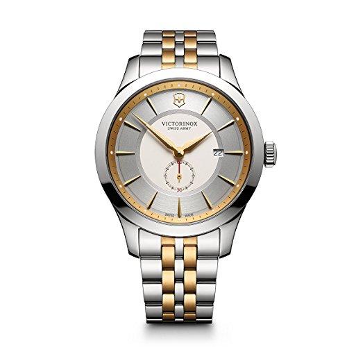 שעון יד Victorinox Men's 'Alliance' Swiss Quartz Stainless Steel Casual Watch, Color:Two Tone (