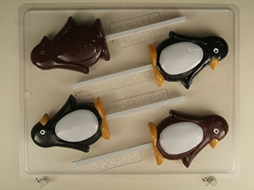 Penguin Lollipops - Chocolate Candy Mold - C167 ()