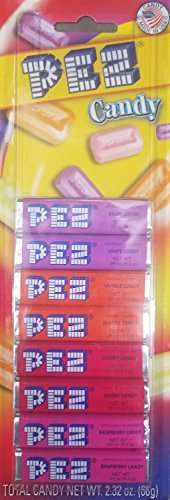 Pez Candy Refill 8Pk Assorted Fruit, 2.31 (Pez Candy Inc)