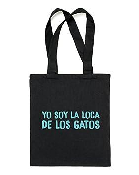 """ThePetLover - Bolsa tote""""YO SOY LA LOCA DE LOS ..."""